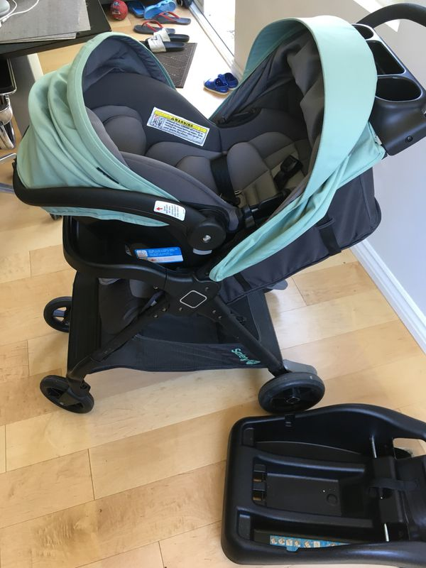 Stroller Travel System Safety 1st Smooth Ride Moss Green For Sale In Los Angeles Ca Offerup