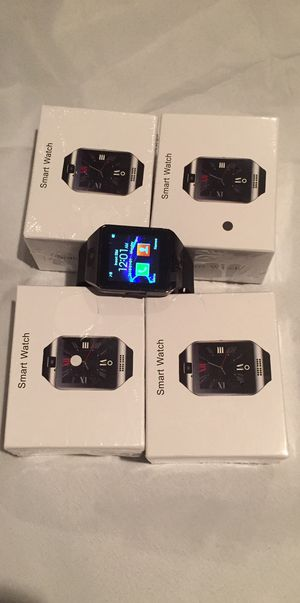 Photo Smart watch/Bluetooth/touchscreen/compatible with Apple or Android phones/aftermarket/brand new