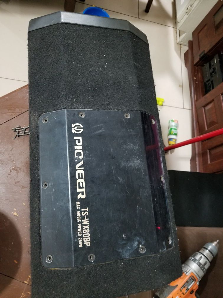 Pioneer box