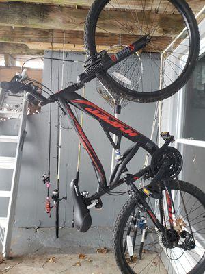 Photo Hyper mountain bike 26 dual suspension
