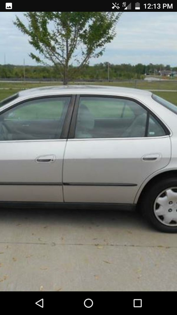 1999 Honda Accord 4cylinder 50000 Original Miles For Sale