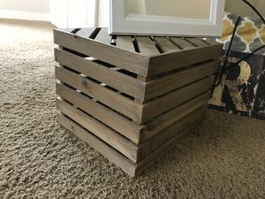 Wooden crate for Sale in Pittsburgh, PA
