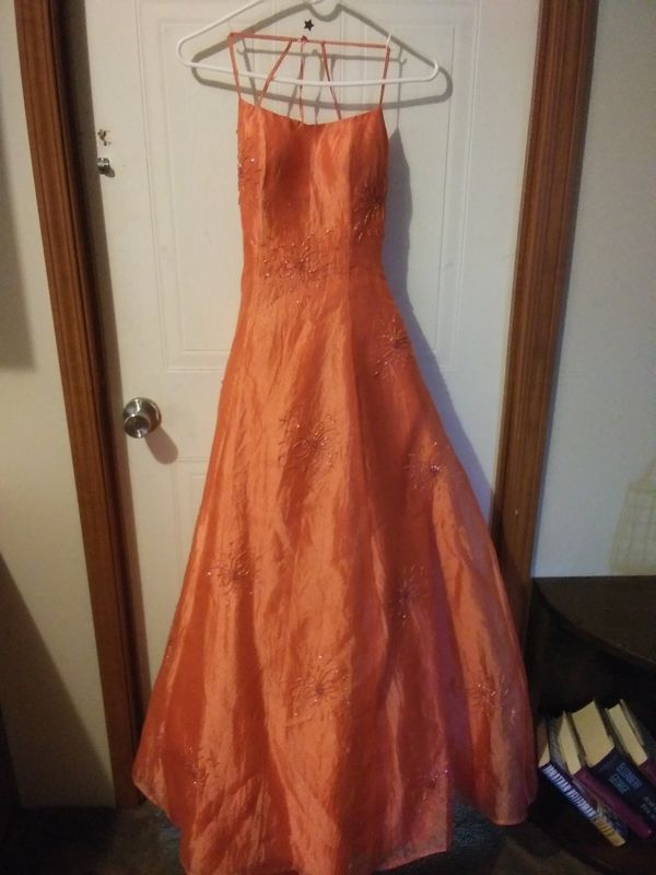 Coral Evening gown for Sale in Dudley, NC - OfferUp