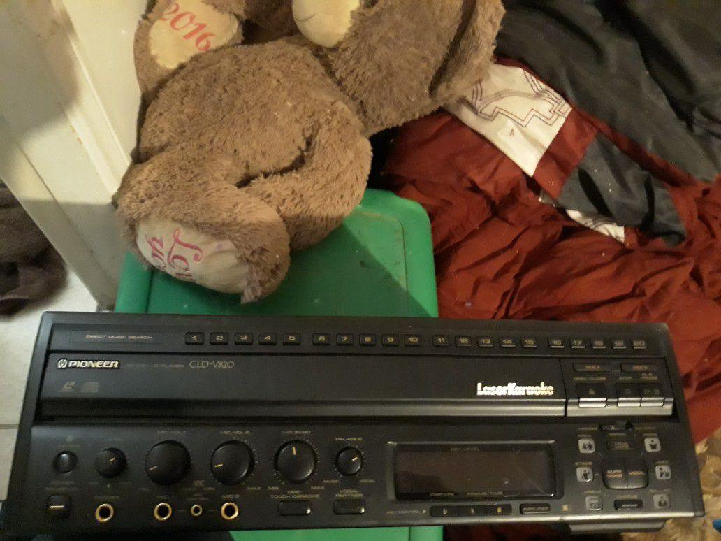 Karaoke/movie player