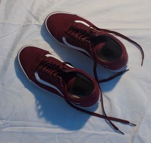 vans old skool burgundy for Sale in Adelphi, MD