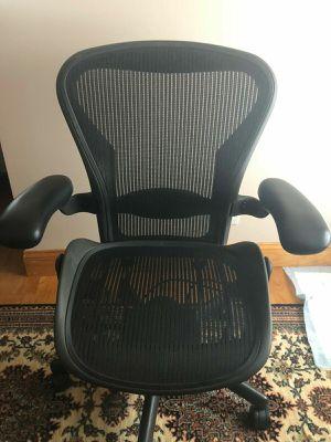 Photo Herman Miller Aeron Size C - Large Chair Size with Adjustable Lumbar
