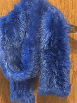 Rabbit fur scarf for Sale in Oakton, VA