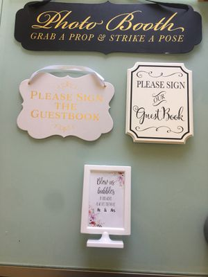 Wedding Signs For In Bellevue Wa
