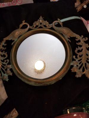 Brass antique mirror for Sale in Bakersfield, CA