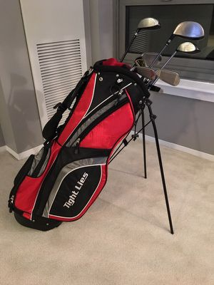 Golf Clubs + Bag Nike Sumo Irons, Nike Q Driver & more for Sale in Chicago, IL