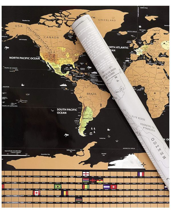 Scratch off world map for sale in hawthorne ca offerup gumiabroncs Image collections