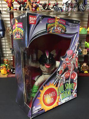 1994 Bandai Mighty Morphin Power Rangers Deluxe Pirantis Head figure, Brand New for Sale in Gardena, CA