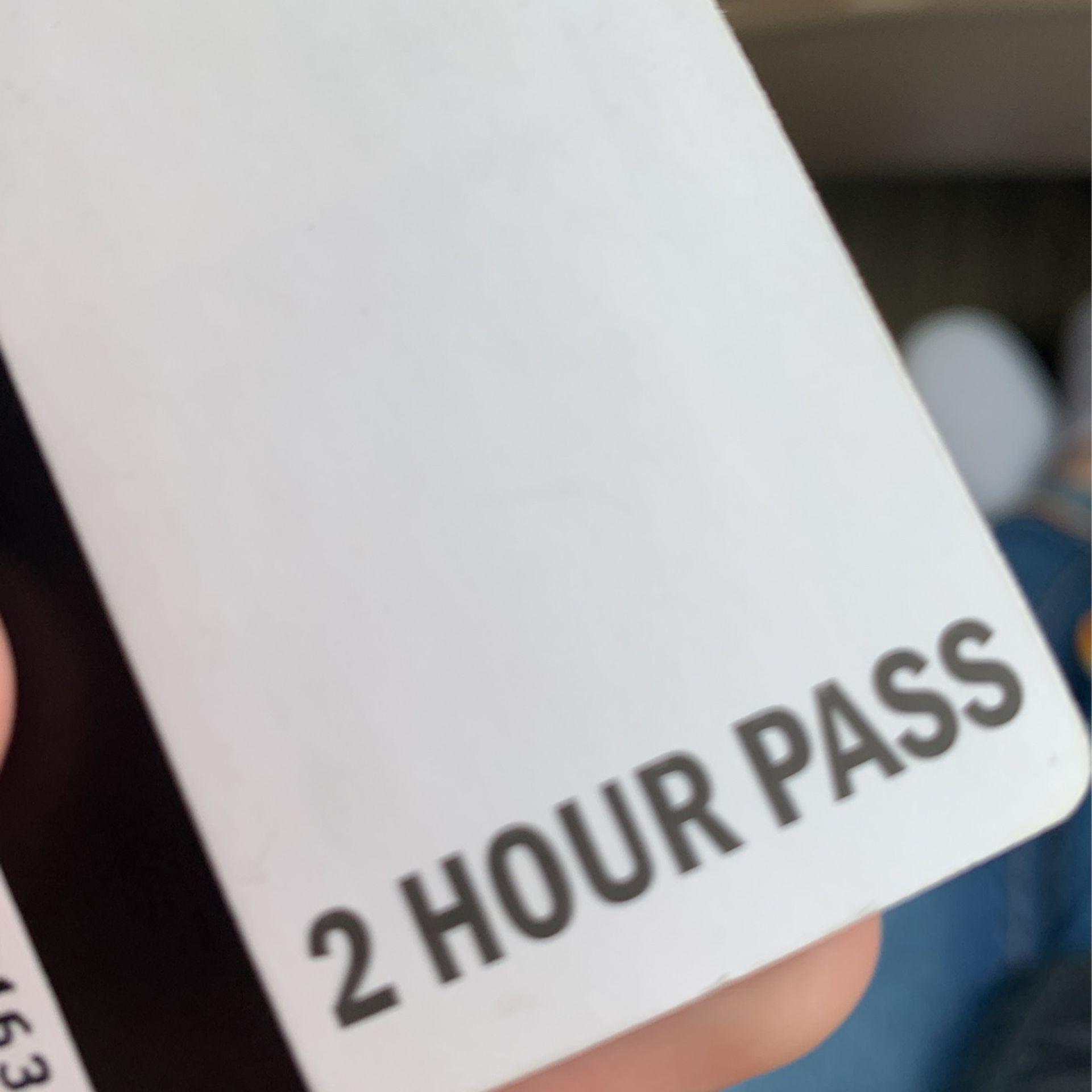 12 Ripta 2 Hour Passes