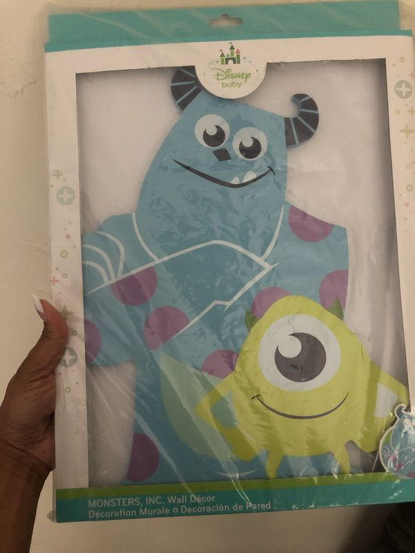Monster inc wall decor for Sale in Swissvale, PA - OfferUp