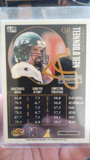QB Neil O'Donnell new york jets for Sale in Detroit, MI