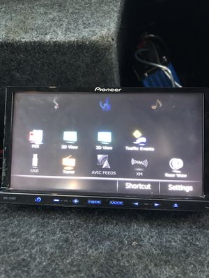 Photo Pioneer Double Din Bluetooth Cd DVD Built In tv tuner