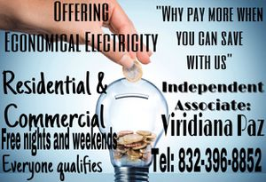Electricity, lights, connection for Sale in Houston, TX