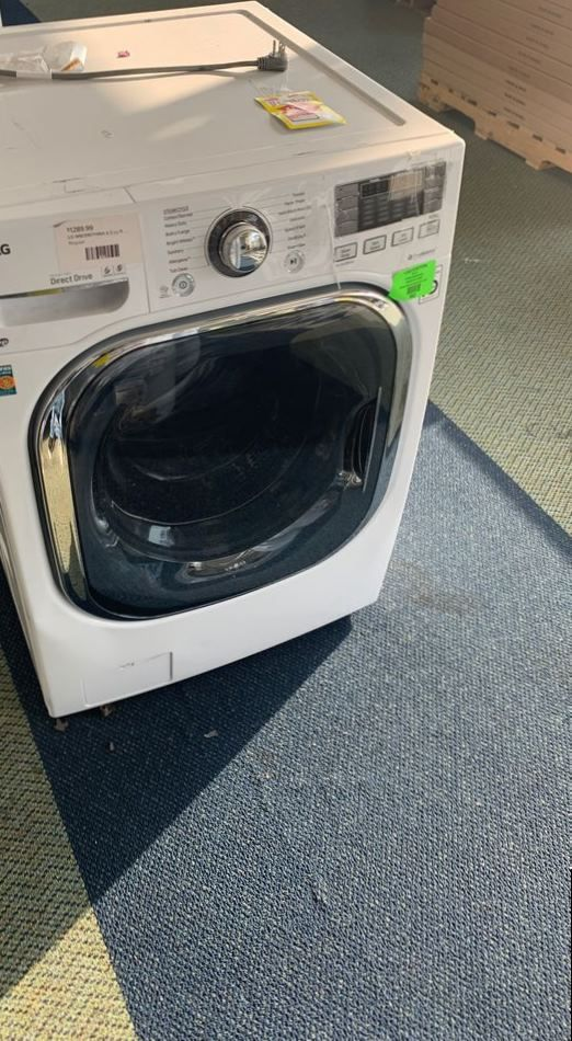 LG WASHER AND DRYER COMBO ORPE7