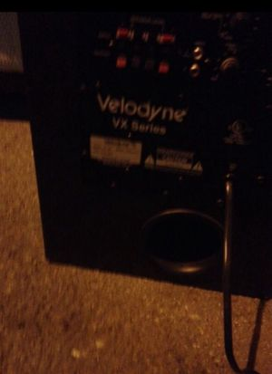 Velodyne subwoofer. for Sale in San Diego, CA