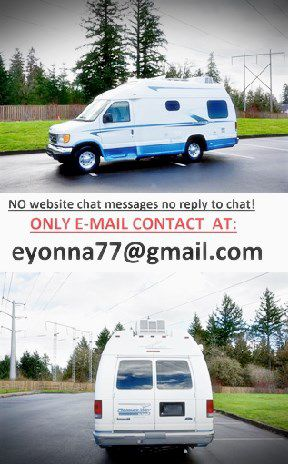 RV 02 Ford E350 VAN motorhome full price listed!!! for Sale in Cleveland, OH
