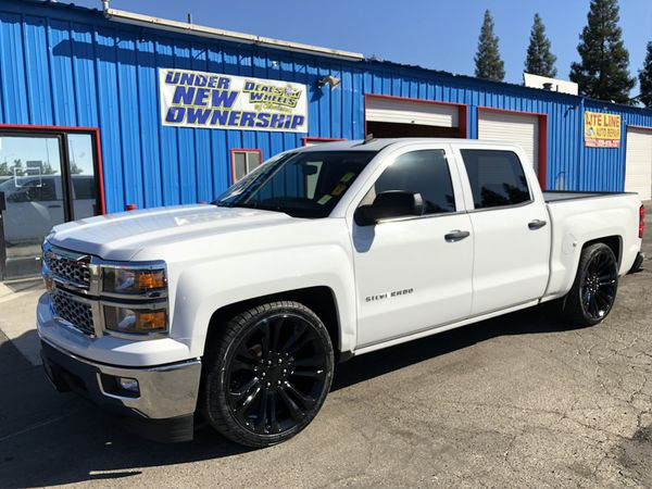 14 Silverado crew cab * lowered on 24's for Sale in Clovis ...
