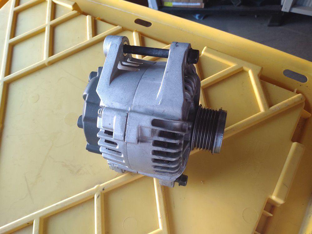 Kia optima starter, intake manifold,throttle body, alternator, and ecu