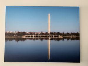 Washington Monument Reflection Canvas for Sale in Washington, DC