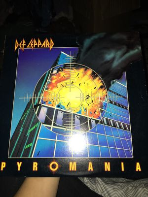 Def Leppard Pyromania Vinyl for Sale in Midlothian, VA