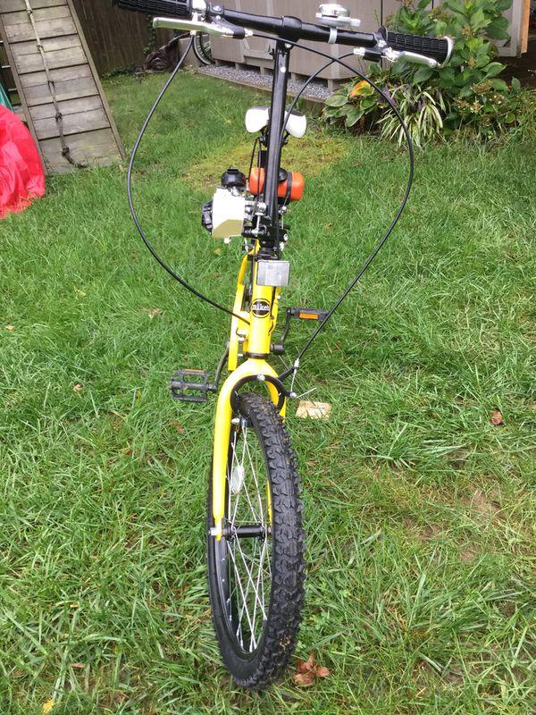 20 Mikes Hard Lemonade Motorized Folding Bicycle