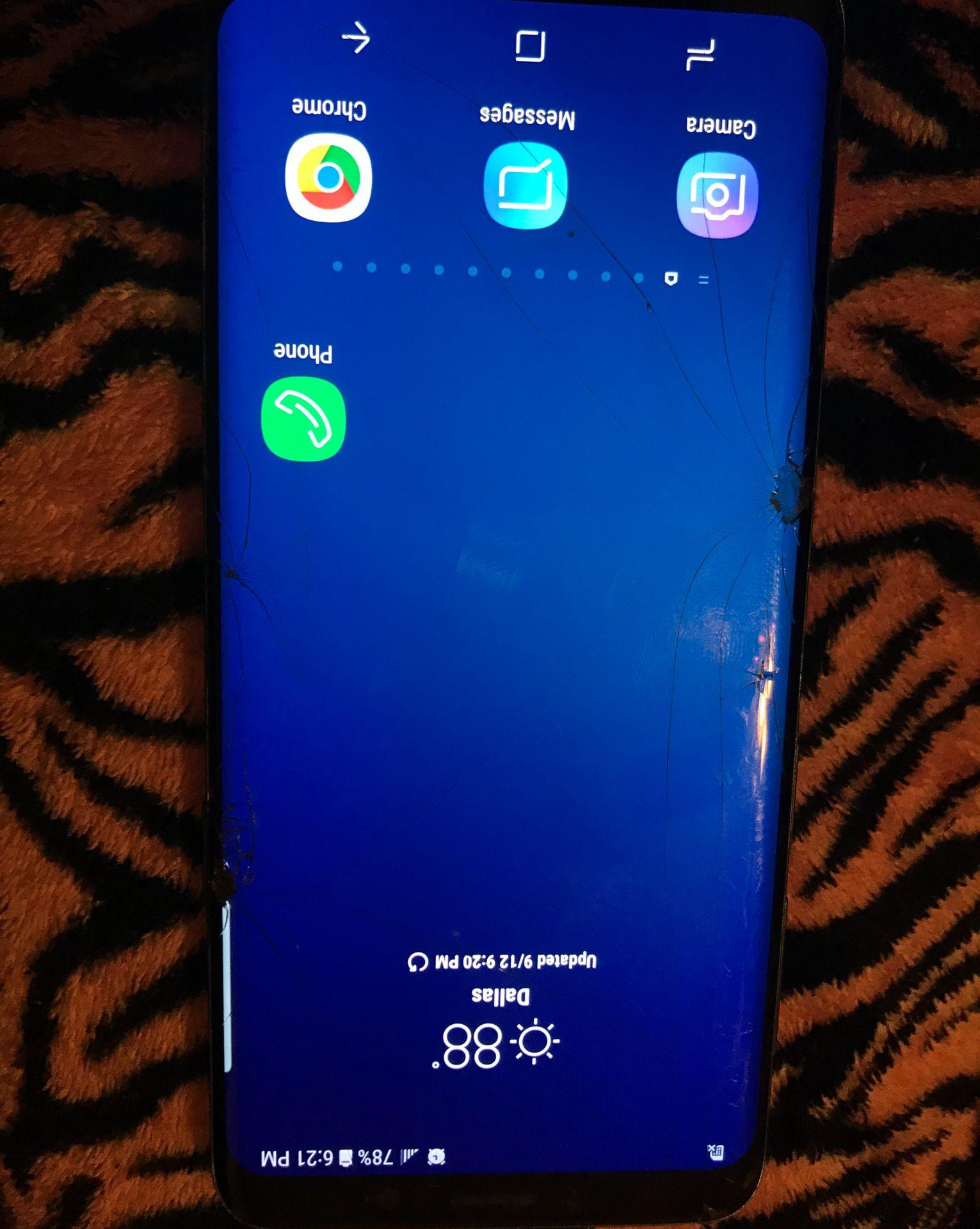 Samsung s9 w/Case