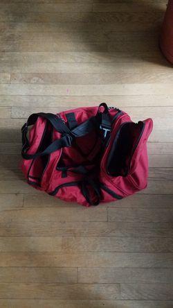 Small Red Duffle Bag Thumbnail