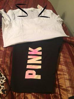 Pink Outfits Bikers Shorts &Shirts Thumbnail