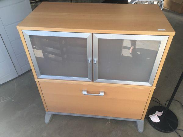 Ikea Effektiv Filing Storage Cabinet For Sale In San