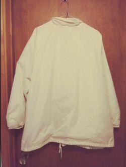 White Snap Jacket - XL Thumbnail