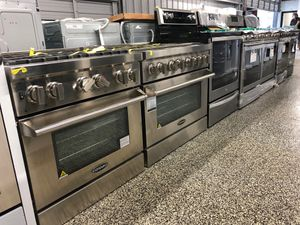 Photo EARLY BLACK FRIDAY! All Brands Gas Stove Oven 6 Burner Stainless Steel #795