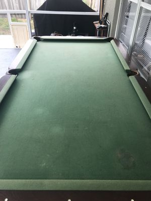 Sportcraft Pool Table Est For Sale In Clermont FL OfferUp - Sportcraft pool table est 1926