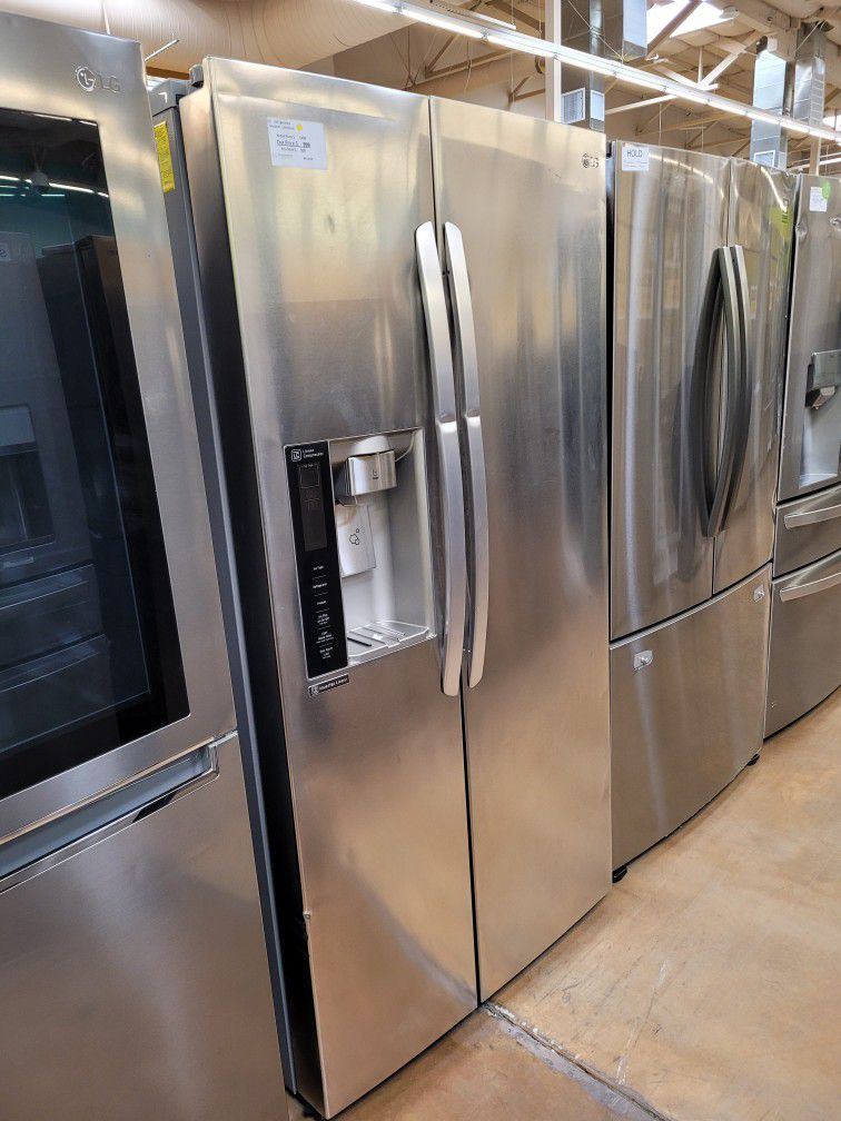 LG Side-by-side Refrigerator Stainless Steel