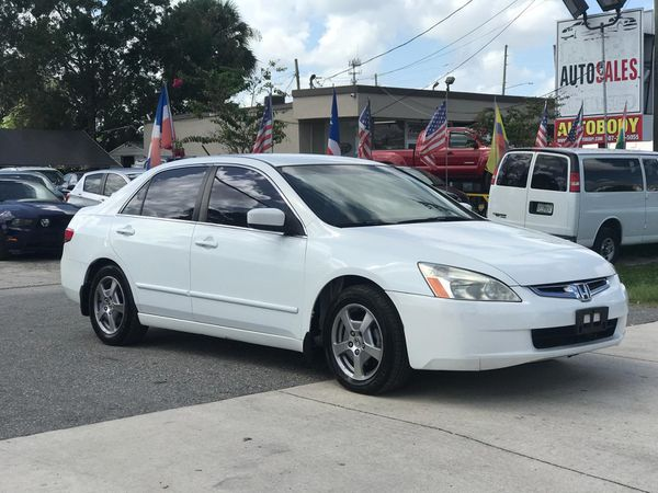 2005 Honda Accord Hybrid Financing Available For Sale In