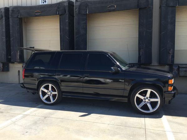 2000 Chevy Tahoe Limited Edition 24 Irocs For Sale In Apple Valley Ca Offerup