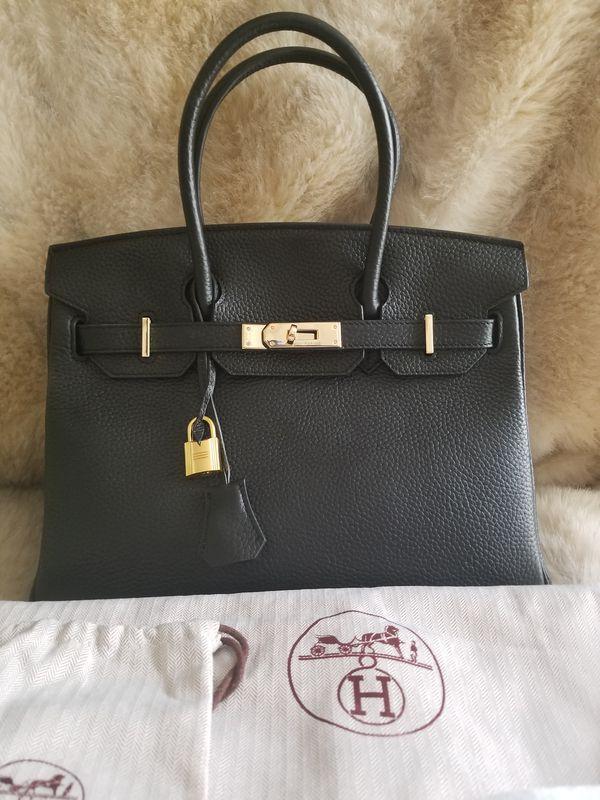 Hermes Birkin 30cm Black Leather for Sale in San Diego 146453541c66e
