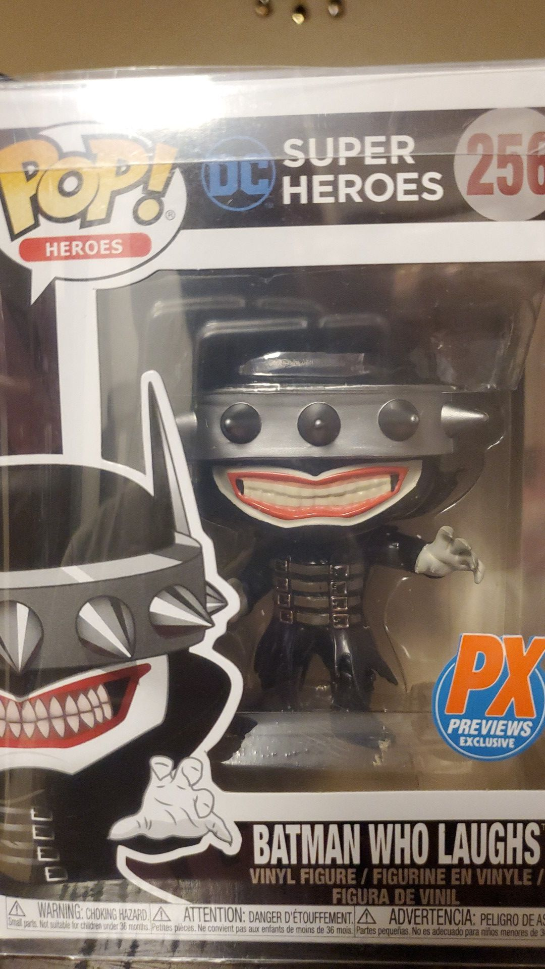 Funko pop mint with protector
