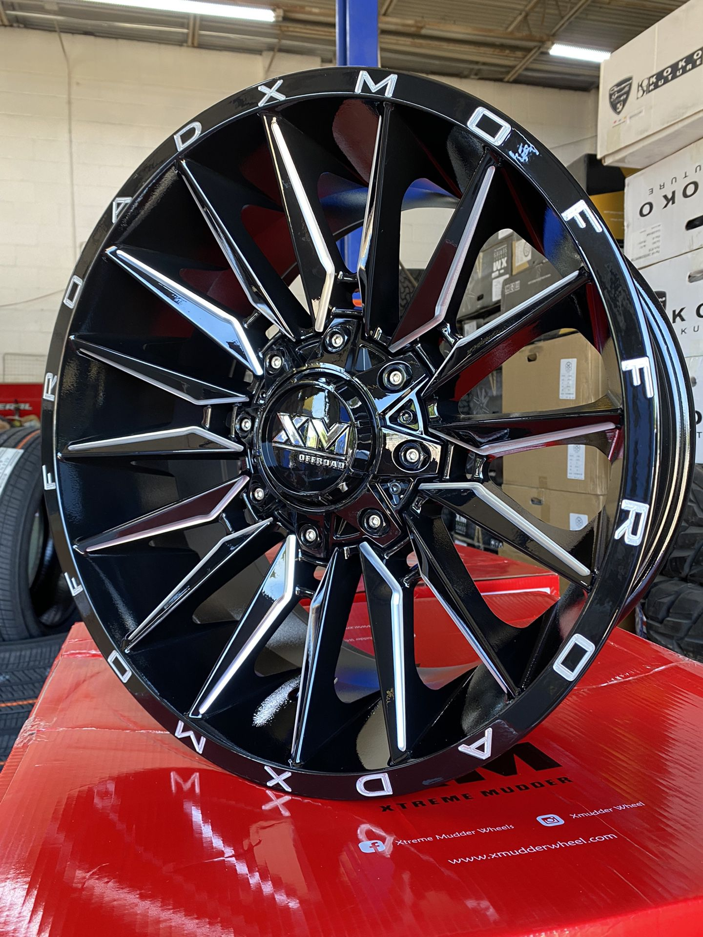 20x10 Offroad Wheels 6lug Chevy Ford With Tirez