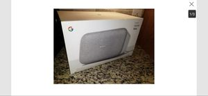 Google Max Home Speaker-New open Box-LOUD BASS-Smart Stereo System for Sale in Sacramento, CA