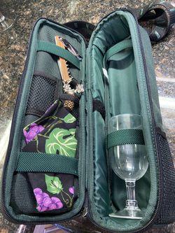 Wine Bottle Picnic Carrier  Thumbnail
