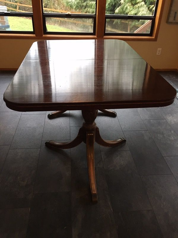 b1096f2ddc0f Drexel Duncan Phyfe Dining Table for Sale in Snohomish