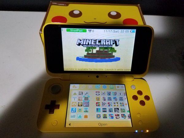 Minecraft nintendo 2ds xl