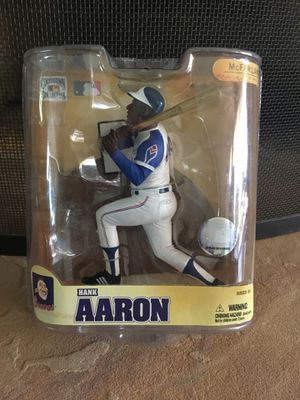 Action Figure Collectibles, Hank Aaron and Brandon Webb for Sale in Phoenix, AZ
