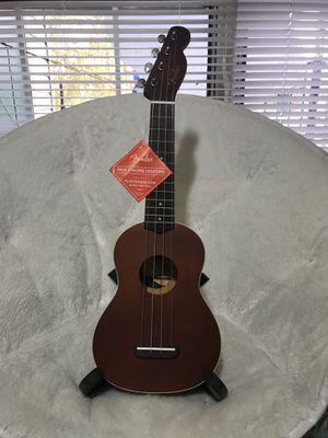 """Fender ukulele soprano 21"""" for Sale in Indianapolis, IN"""