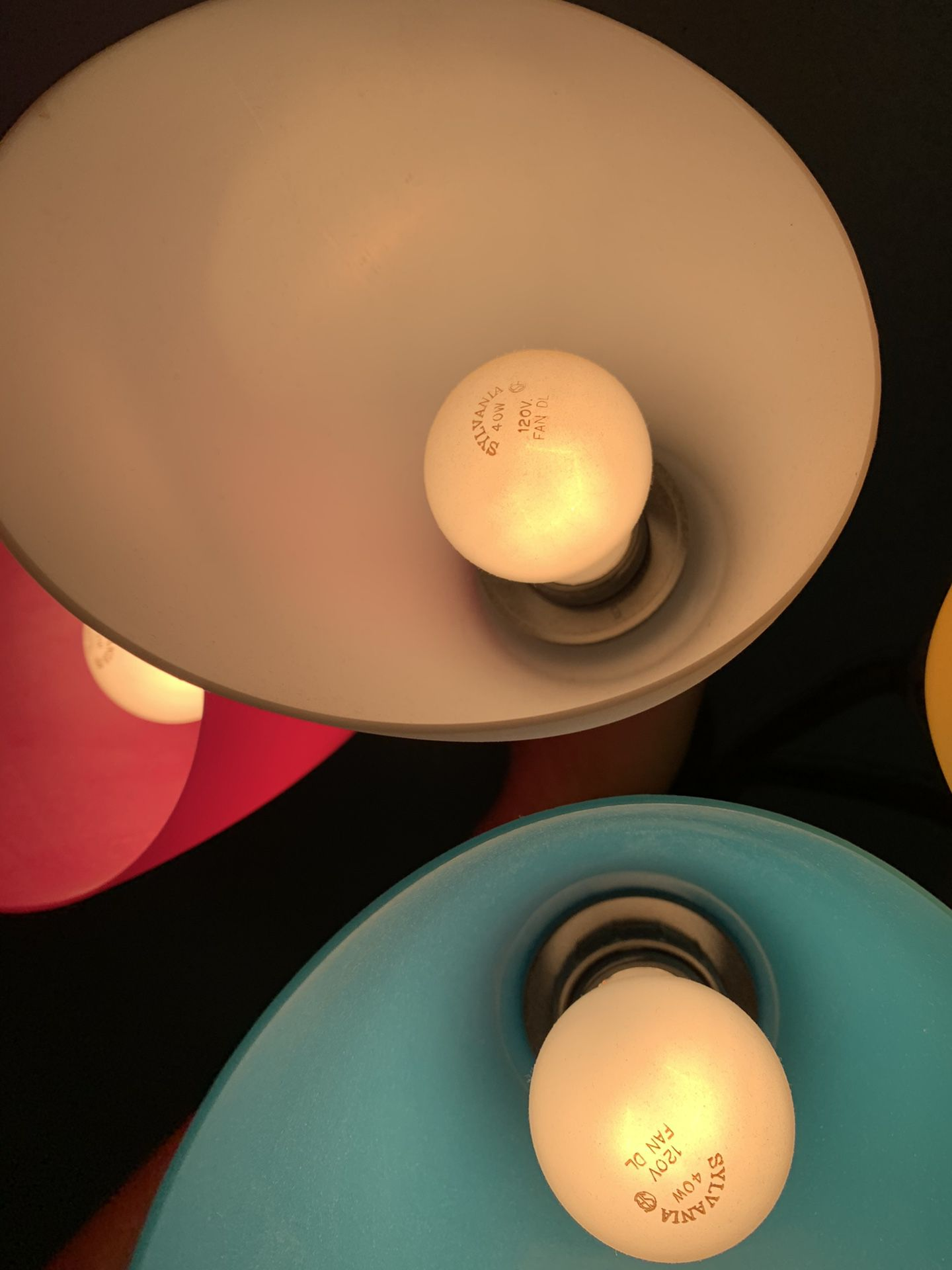 Colored lamp