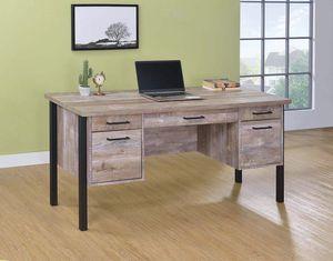 New Sampson rustic industrial home office desk for Sale in Miami, FL